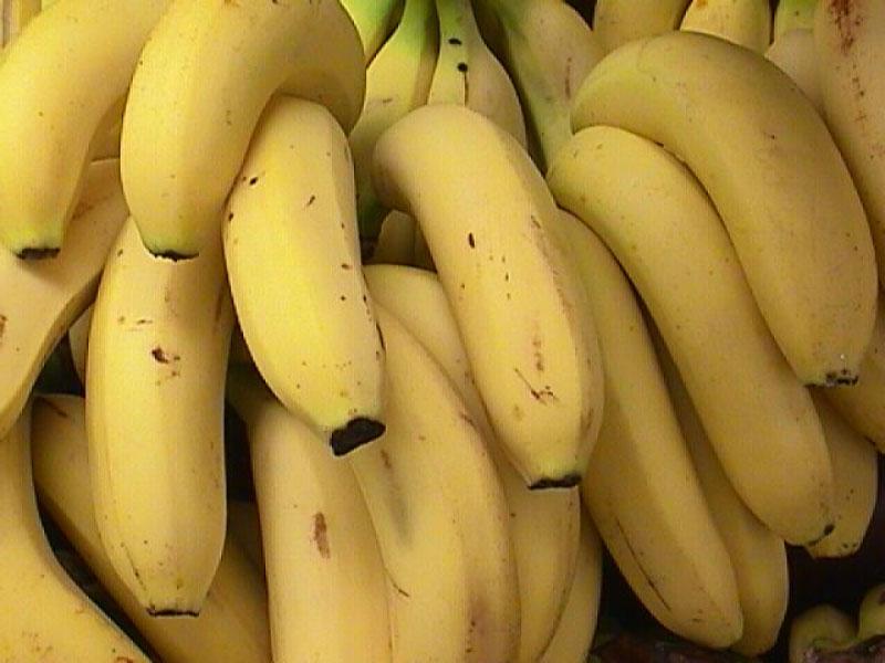 Овощи и фрукты. Польза бананов