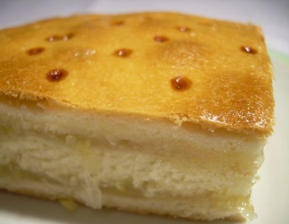 Домашняя выпечка. Лимонный торт.