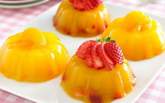 Овощи и фрукты.zhele-iz-zhelatina