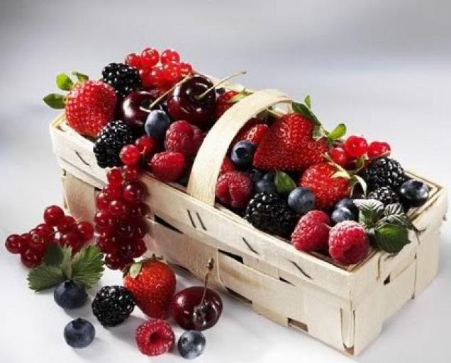 Полезные ягоды. Ягодная диета.
