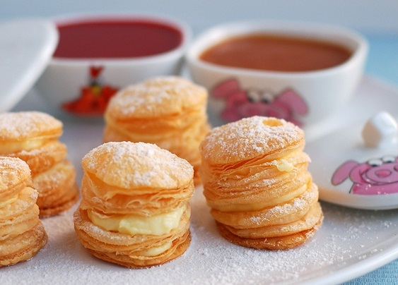 puff pastry. cakes.